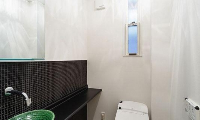 明るいトイレ|南大阪の家②
