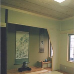 ロマネハウス (床の間のある和室)