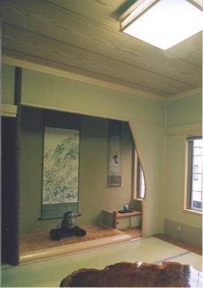 ロマネハウスの部屋 床の間のある和室