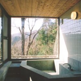 山額荘 (浴室)
