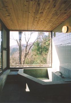 山額荘の部屋 浴室