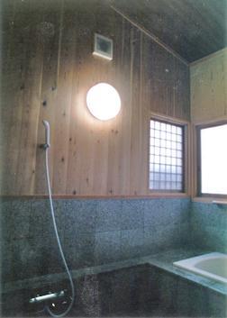 祖業庵の部屋 浴室