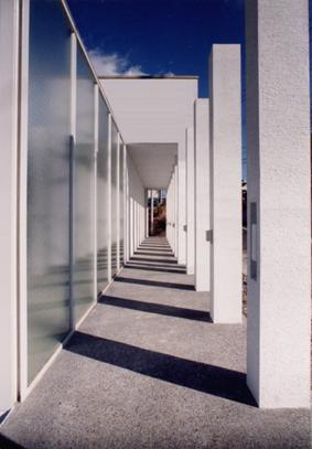 回廊の館の部屋 列柱