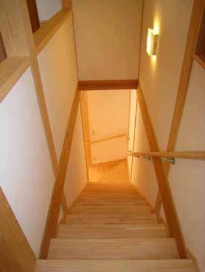 Kさんの家 (階段から見下ろして)