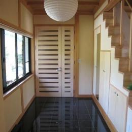 支配人の家 (玄関)
