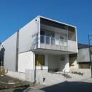 クラフト設計の住宅事例「3つの坪庭を持つ家」