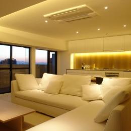 リビングダイニングキッチン3 (Vent Vert Nampeidai Penthouse)
