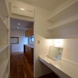 キッチンの隣の収納スペース