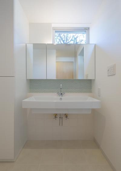 洗面脱衣室 (池花の家)