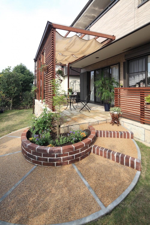 ハイブリッドホーム「川崎市K邸:リゾート気分満喫!ガーデンテラス」