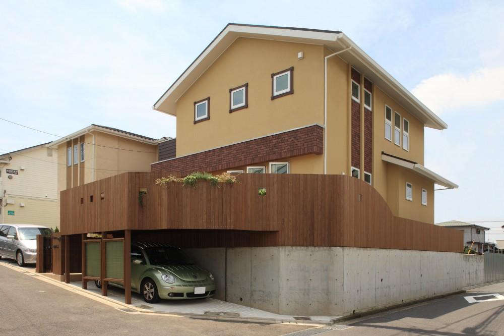 町田市W邸:新築を彩るエクステリア (外観)