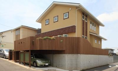 外観|町田市W邸:新築を彩るエクステリア