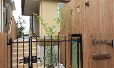 町田市W邸:新築を彩るエクステリア