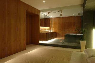 ベッドルーム+バス2 (Vent Vert Nampeidai Penthouse)