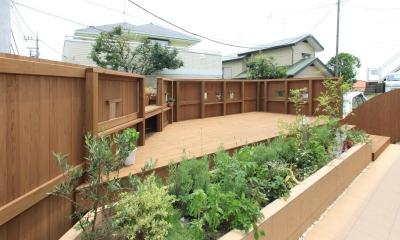 ハーブガーデン|町田市W邸:新築を彩るエクステリア