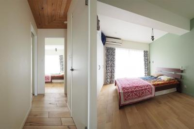 寝室 (『Treerink』 ― 世代を繋ぐ)