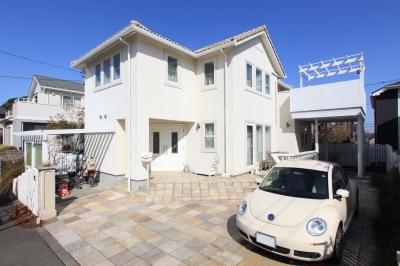 町田市K邸:バルコニーを拡げて空間の有効活用 (外観)