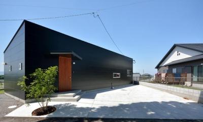 駐車場が広い平屋住宅|Ballena