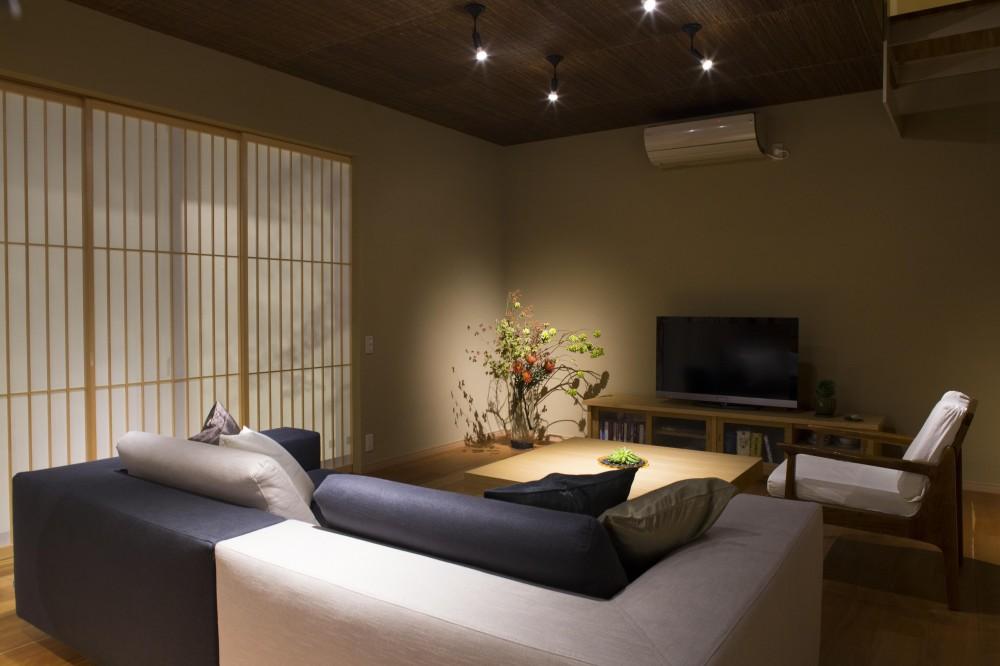 京都市T邸 (LDK夜間)