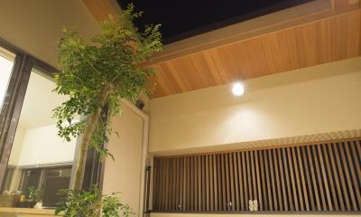 京都市T邸 (夜間スカイテラス)