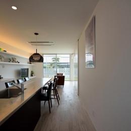 ダイニングテーブル付きのキッチン (Terrace2567)