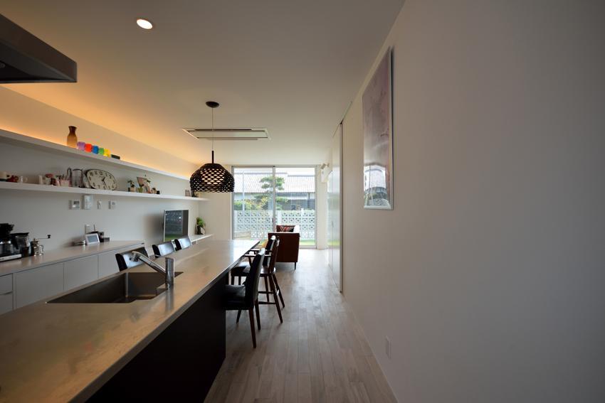 Terrace2567の部屋 ダイニングテーブル付きのキッチン