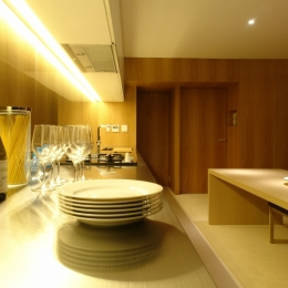 Vent Vert Nampeidai Penthouse (キッチン)