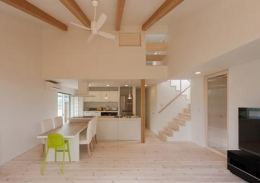 K邸 H23 (開放的なダイニングキッチン)