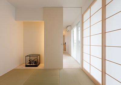 K邸 H23の部屋 光が差し込む和室