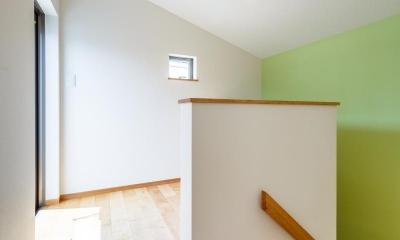 アリスの家 (階段ホール)