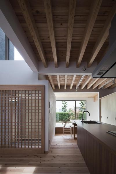 ダイニングキッチン (陽だまりの家)