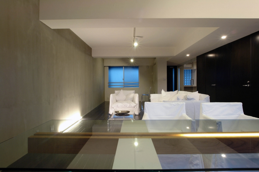 Luxeairの部屋 RoomBリビングダイニング
