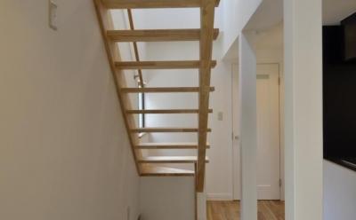 k house (オープン型階段)