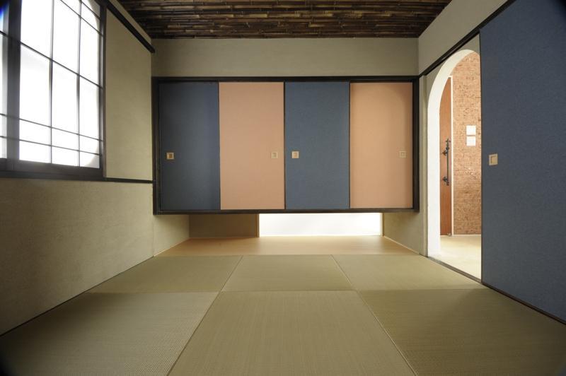 h-houseの部屋 琉球畳を敷き詰めた和室
