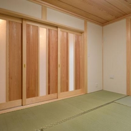 TH邸新築工事 (茶の間)