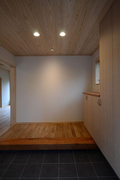 TH邸新築工事の部屋 玄関