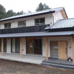 TH邸新築工事 (南側外観)