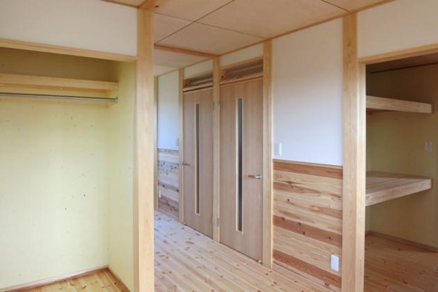 KT邸新築工事の写真 子供室