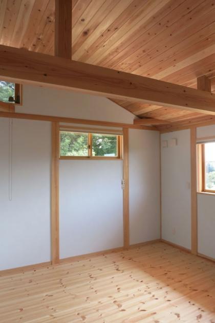 KT邸新築工事の写真 主寝室