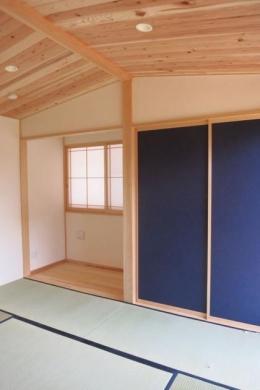 KT邸新築工事 (茶の間)