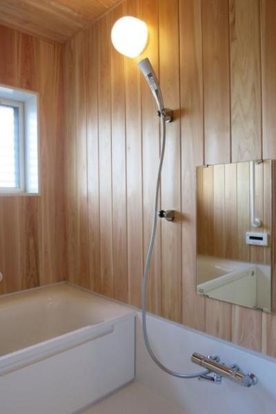 浴室 (YD邸新築工事)