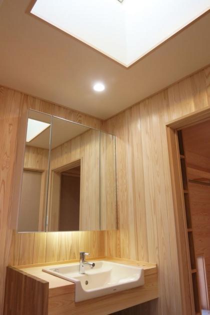 YD邸新築工事の写真 洗面脱衣室
