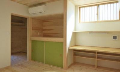 YD邸新築工事 (寝室)