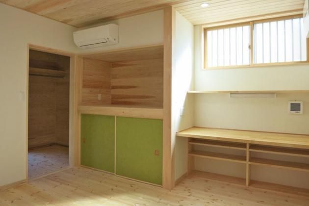 YD邸新築工事の写真 寝室