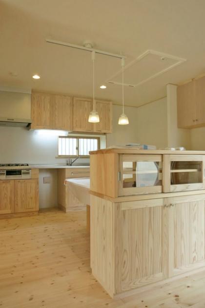 YD邸新築工事の写真 食事室