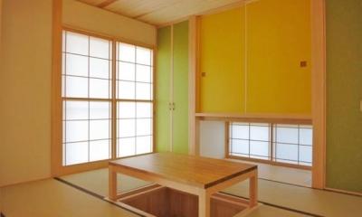 YD邸新築工事 (茶の間)