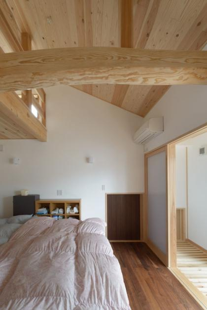 HK邸新築工事の部屋 主寝室