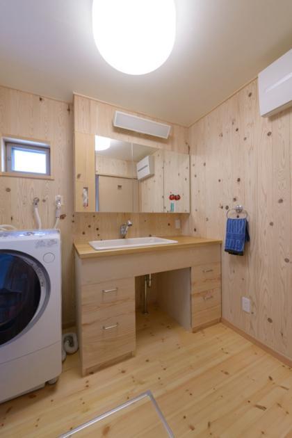 HK邸新築工事の部屋 洗面脱衣室