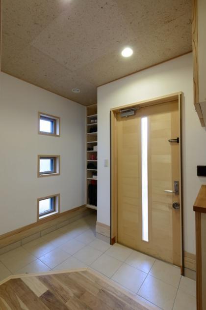 HK邸新築工事の部屋 玄関