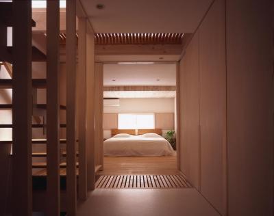 寝室 (天満の家)
